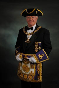 Most Worshipful Harvey J. Waugh, Grand Master of Masons in Massachusetts